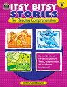 書, 雜誌, 漫畫 - Itsy Bitsy Stories for Reading Comprehension, Grade K ITSY BITSY STORIES FOR R-GRD K [ Susan Collins ]