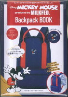 Disney MICKEY MOUSE Backpack BOOK
