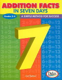 【】Addition Facts in Seven Days, Grades 2-4: A Simple Method for Success [ Carl H. Seltzer ]