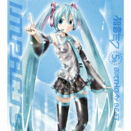 <strong>初音ミク</strong> 5thバースデー ベスト 〜impacts〜(CD+DVD) [ (V.A.) ]