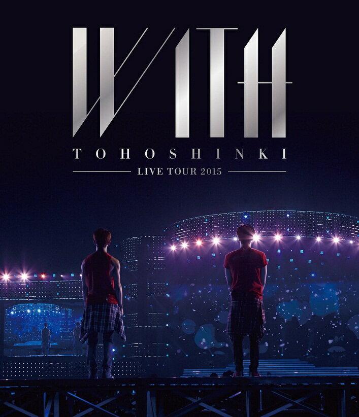 【ポスター無し】 東方神起 LIVE TOUR 2015 WITH 【Blu-ray】 […...:book:17493003