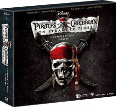 パイレーツ・オブ・カリビアン/生命の泉 アートブック付きコンプリートボックス【初回数量限定生産】【Blu-ray】【Disneyzone】