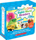 Nonfiction Sight Word Readers Parent Pack Level B: Teaches 25 Key Sight Words to Help Your Child Soa NF SIGHT WORD READERS LEVB Liza Charlesworth