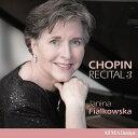 器樂曲 - 【輸入盤】ピアノ作品集第3集 ヤニーナ・フィアルコフスカ [ ショパン (1810-1849) ]