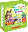 Nonfiction Sight Word Readers Parent Pack Level C: Teaches 25 Key Sight Words to Help Your Child Soa NF SIGHT WORD READERS LC 3-7 Liza Charlesworth