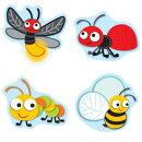 """Buggy"""" for Bugs Shape Stickers"""
