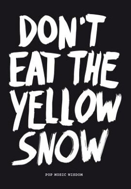 Don''t Eat the Yellow Snow: Pop Music Wisdom