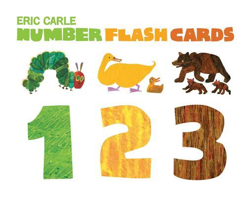 The World of Eric Carle(tm) Eric Carle Number Flash Cards NUMBER FLASH CARDS (Eric Carle) [ Eric Carle ]