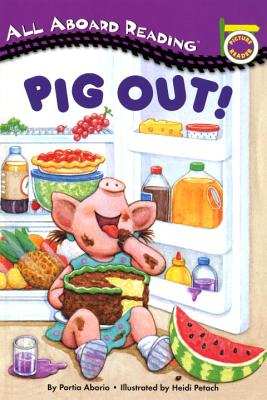 PIG OUT!:WITH 24 FLASH CARDS(P) [ PORTIA ABORIO ]