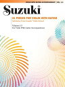 Suzuki Violin with Guitar Accompaniment, Vol. 1-3: 21 Pieces for Violin with Guitar SUZUKI VIOLIN W/GUITAR -V01-03 Thomas Heck