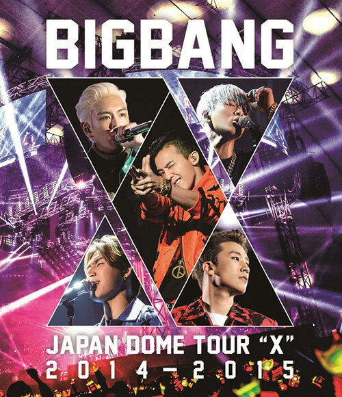 "BIGBANG JAPAN DOME TOUR 2014〜2015 ""X""【Blu-ray…...:book:17276715"