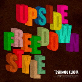 Upside Down/Free Style �ʽ������ס�CD+DVD��