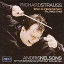 其它 - 【輸入盤】アルプス交響曲、『サロメ』より「7つのヴェールの踊り」 ネルソンス&バーミンガム市交響楽団 [ シュトラウス、リヒャルト(1864-1949) ]