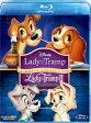 わんわん物語 ダイヤモンド・コレクション&わんわん物語2【Blu-ray】 【Disneyzone】 [ バーバラ・ルディ ]