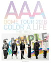 AAA DOME TOUR 2018 COLOR A LIFE PHOTOBOOK AAA