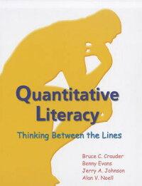 QuantitativeLiteracy:ThinkingBetweentheLines