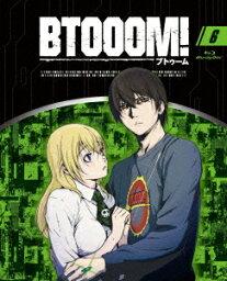 BTOOOM! 6【Blu-ray】 [ <strong>本郷奏多</strong> ]