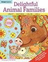 樂天商城 - Delightful Animal Families: Craft, Pattern, Color, Chill DELIGHTFUL ANIMAL FAMILIES (Coloring Is Fun) [ Thaneeya McArdle ]