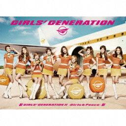GIRLS' GENERATION 2 〜Girls & Peace〜(初回限定盤 CD+DVD) [ <strong>少女時代</strong> ]
