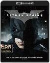 バットマン ビギンズ(4K ULTRA HD+ブルーレイ)(3枚組)【4K ULTRA HD】 [ クリスチャン・ベール ]