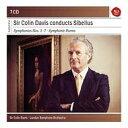 【輸入盤】交響曲全集、管弦楽曲集 デイヴィス&ロンドン交響楽団(7CD) [ シベリウス(1865-1957) ]
