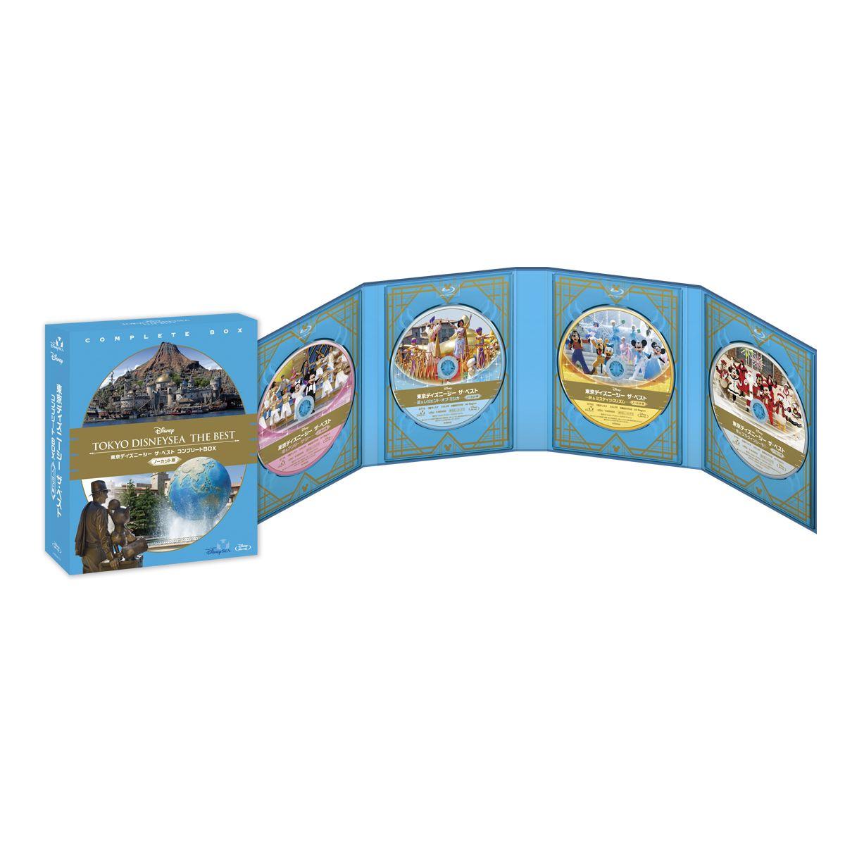 東京ディズニーシー ザ・ベスト コンプリートBOX<ノーカット版>【Blu-ray】 [ …...:book:17946589