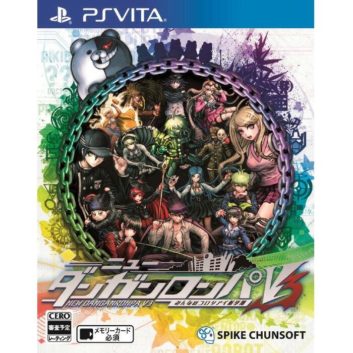 ニューダンガンロンパV3 みんなのコロシアイ新学期 通常版 PS Vita版