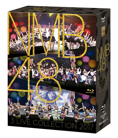 NMB48 3 LIVE COLLECTION 2017【Blu-ray】 [ NMB48 ]
