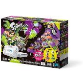 Wii U スプラトゥーン セット(amiibo アオリ・ホタル付き)