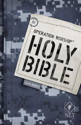 Operation Worship Bible-NLT-Navy