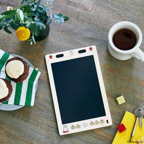 miffy 繰り返し書いて消せる! マルチに使えるデジタルメモBOOK いちごとケーキ柄