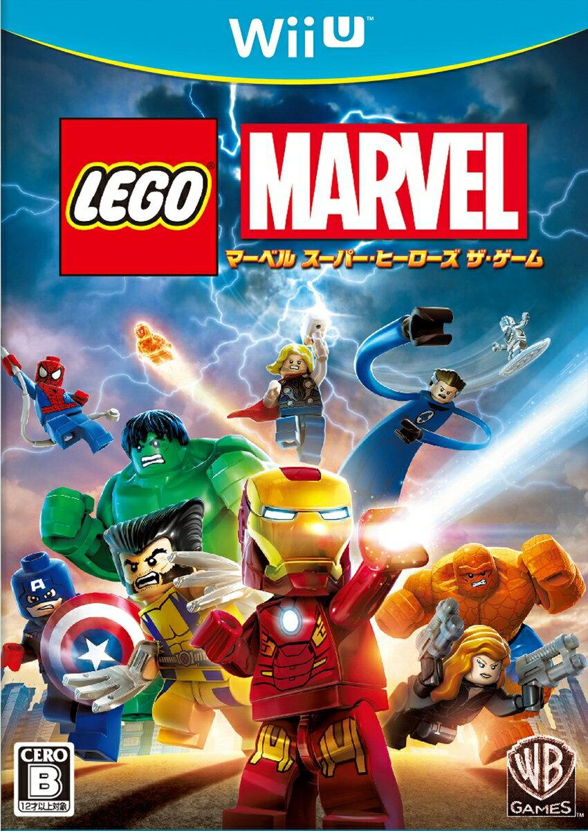 【予約】LEGO(R) マーベル スーパー・ヒーローズ ザ・ゲーム Wii U版
