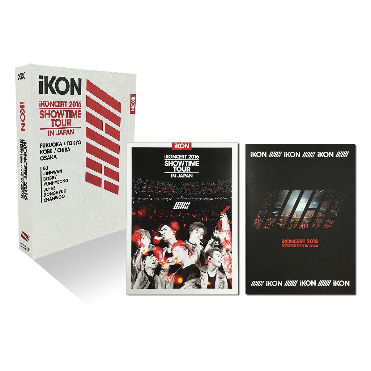 iKONCERT 2016 SHOWTIME TOUR IN JAPAN【DVD3枚組+C…...:book:17920247
