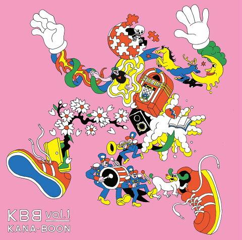 KBB vol.1 (初回限定盤 CD+DVD) [ KANA-BOON ]