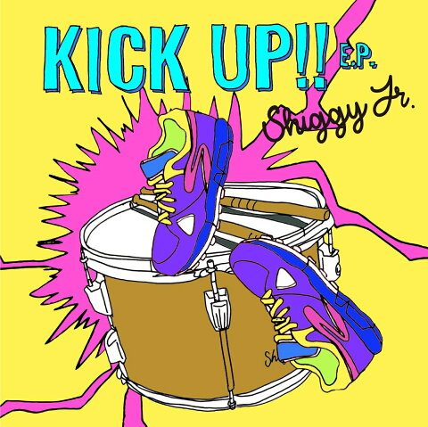 KICK UP!! E.P. (初回限定盤 CD+DVD) [ Shiggy Jr. ]