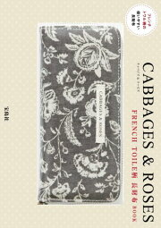 CABBAGES & ROSES FRENCH TOILE柄 長財布BOOK