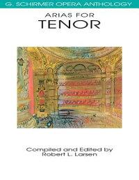 Arias_for_Tenor��_G��_Schirmer_O