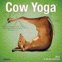 Cow Yoga 2021 Mini Wall Calendar COW YOGA 2021 MINI WALL CAL [ Willow Creek Press ]
