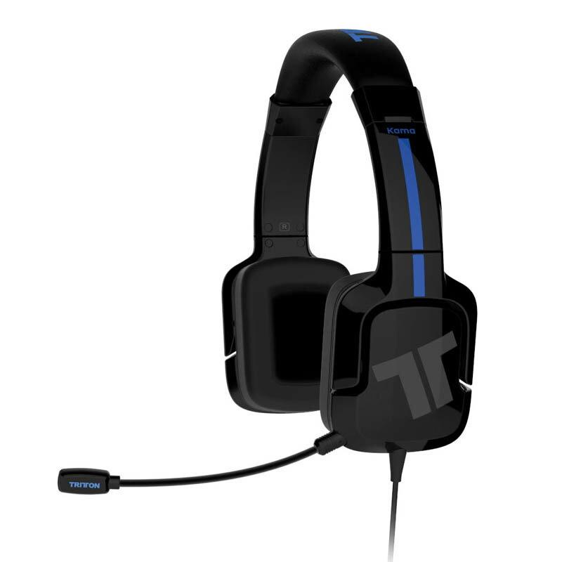 TRITTON カマ ステレオ ヘッドセット ブラック (PlayStation 4/PlayStation Vita)