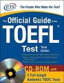 OFFICIAL GD TOEFL TEST 3/E(W/CDROM)