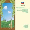 楽天楽天ブックス【輸入盤】アルプス交響曲、家庭交響曲、パレルゴン、他 メータ&ロサンゼルス・フィル、プレヴィン&ウィーン・フィル、他(2CD) [ シュトラウス、リヒャルト(1864-1949) ]