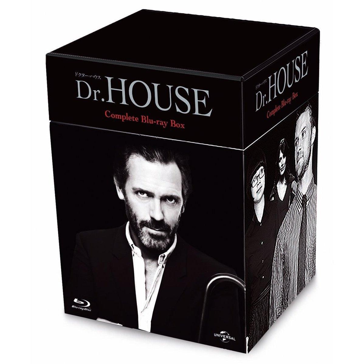 Dr.HOUSE/ドクター・ハウス コンプリート ブルーレイBOX【Blu-ray】 [ ヒュー・ローリー ]