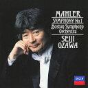 Symphony - マーラー:交響曲第1番≪巨人≫ [ 小澤征爾 ]