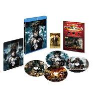 ホビット 決戦のゆくえ 3D&2D ブルーレイセット(4枚組/デジタルコピー付)【初回限定生産】【Blu-ray】