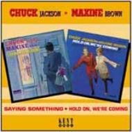 ��͢���ס�SayingSomething/HoldOnWe'reComing[ChuckJackson/MaxineBrown]