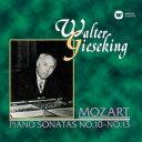 Instrumental Music - モーツァルト:ピアノ・ソナタ 第10番〜第13番 [ ワルター・ギーゼキング ]