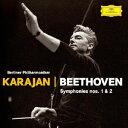 Symphony - ベートーヴェン:交響曲第1番・第2番 [ ヘルベルト・フォン・カラヤン ]