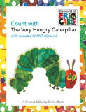 指望饿饿CATERPILLA(P)的[书籍][Count with the Very Hungry Caterpillar [With Giant Reusable Stickers] [ Eric Carle ]]