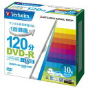 DVD-R(Video with CPRM)120分 1-16倍速 10P