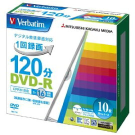 DVD-R��Video with CPRM��120ʬ 1-16��® 10P